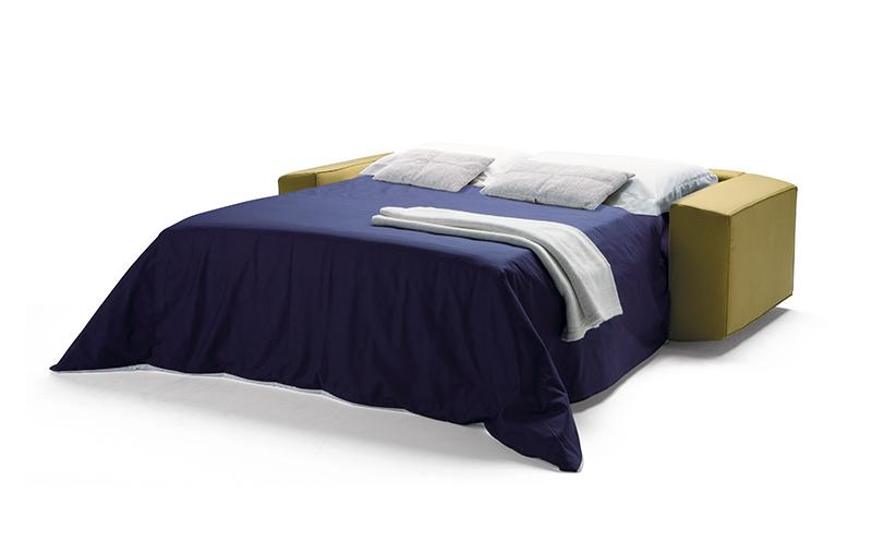 Canap lit melvin angle milano bedding chez vestibule paris for Canape lit paris