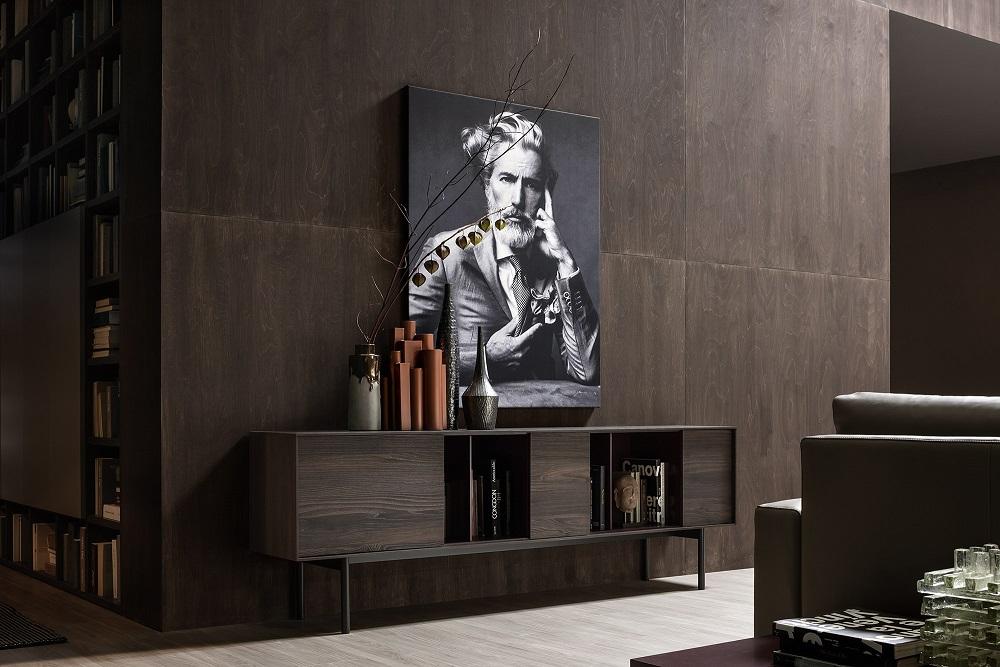 furniture buffet reverse novamobili par vestibule paris novamobili - Meuble Bahut Design Italien