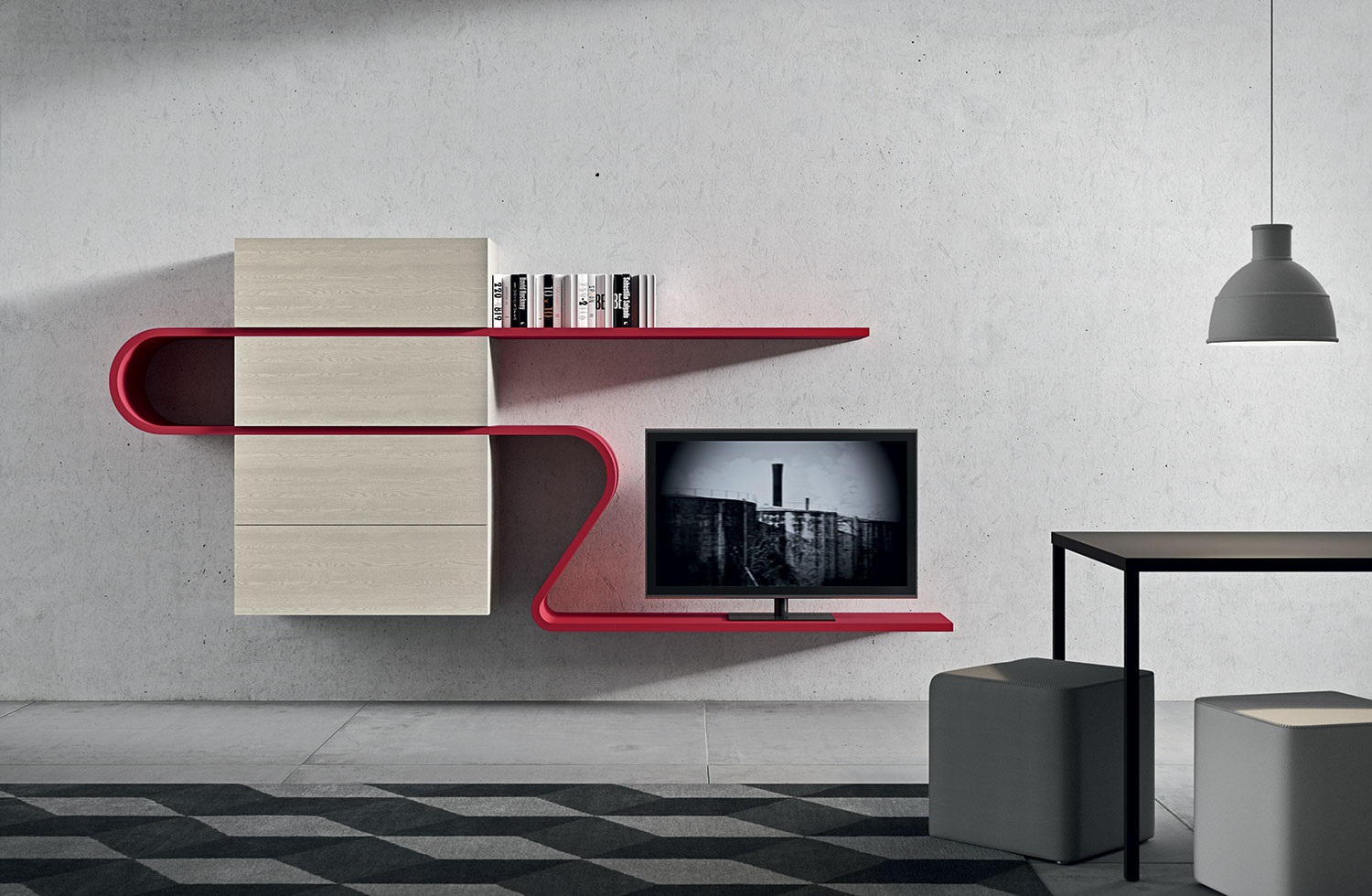 meuble wave novamobili par vestibule paris novamobili. Black Bedroom Furniture Sets. Home Design Ideas