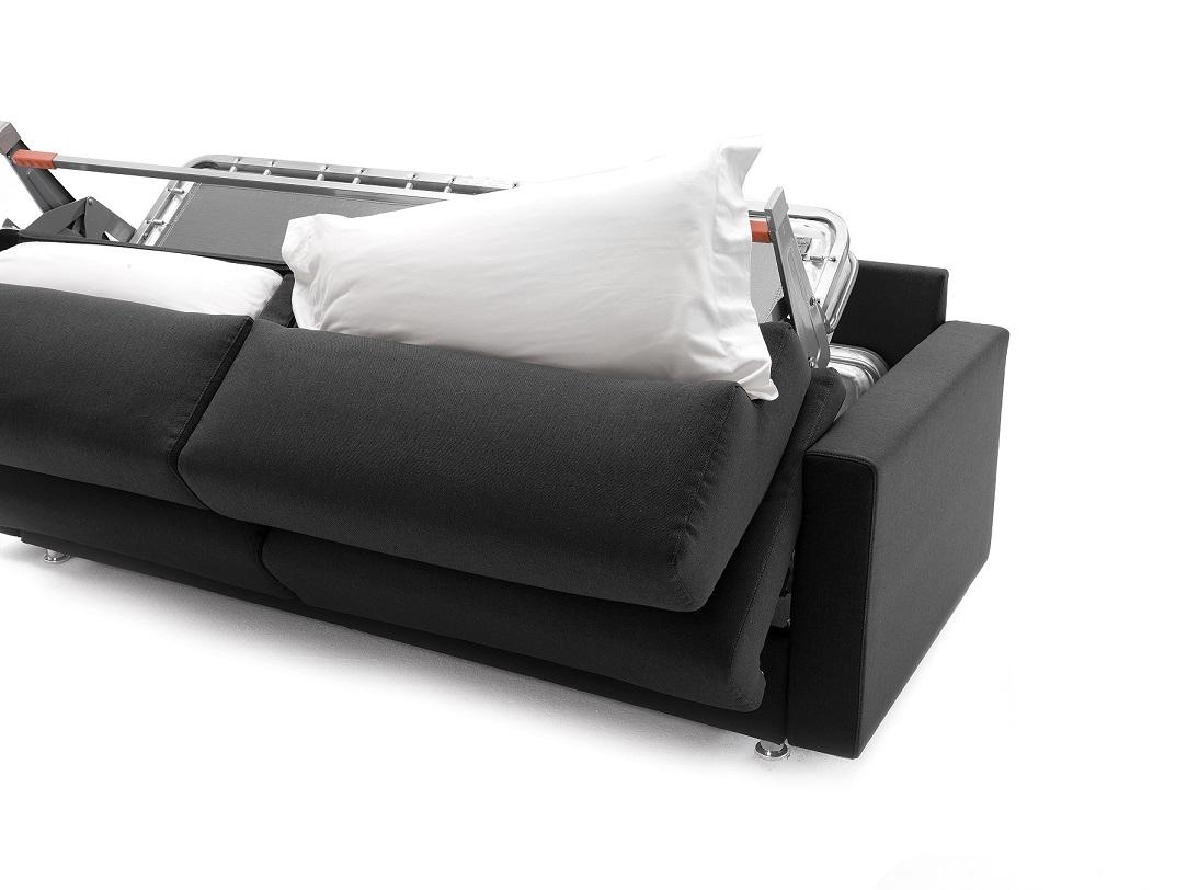 Canap lit lampo milano bedding chez vestibule paris for Canape lit paris