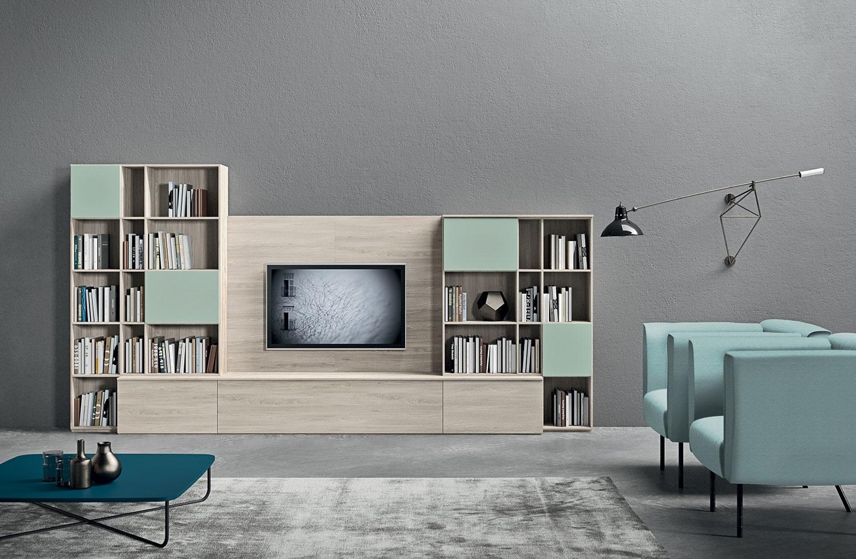 Achetez un meuble day murale 2 novamobili chez vestibule paris for Nuova mobili