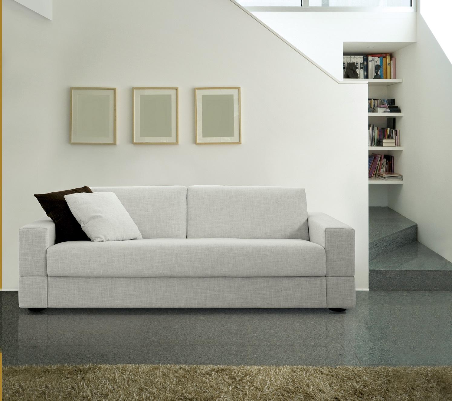 Canap lit brian milano bedding chez vestibule paris vibieffe for Lit convertible paris