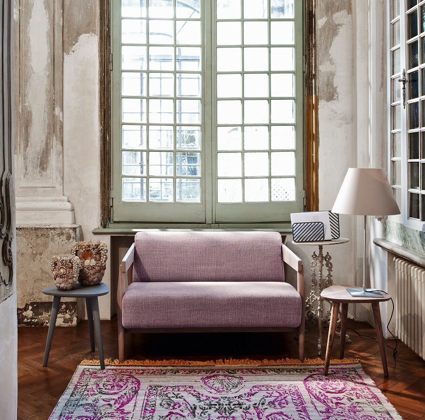Love seat Brick Gervasoni