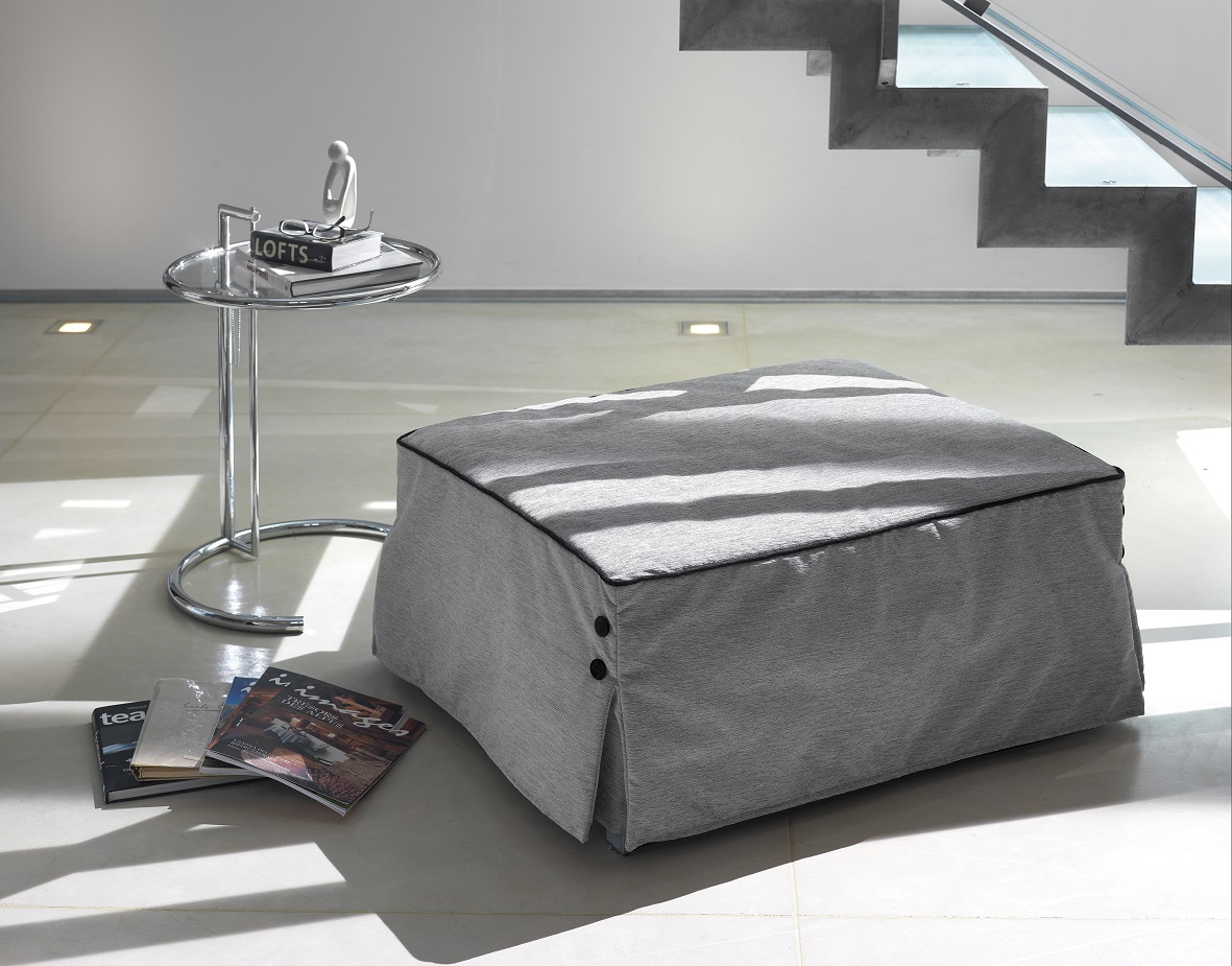 pouf convertible bill milano bedding