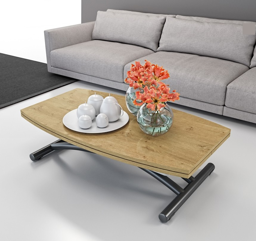 Fabriquer une table basse relevable id e for Table basse relevable solde