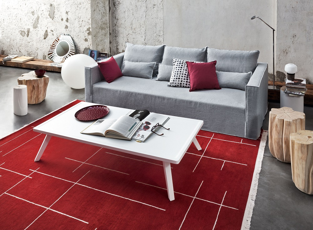 table basse brick gervasoni de paola navone vestibule paris. Black Bedroom Furniture Sets. Home Design Ideas