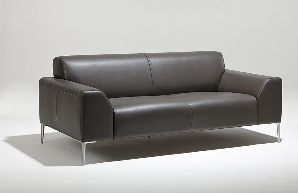 Canapé 2 places cuir Montmartre Burov en cuir