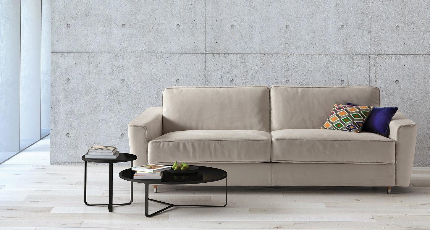 achetez un canap lit petrucciani milano bedding chez vestibule paris. Black Bedroom Furniture Sets. Home Design Ideas