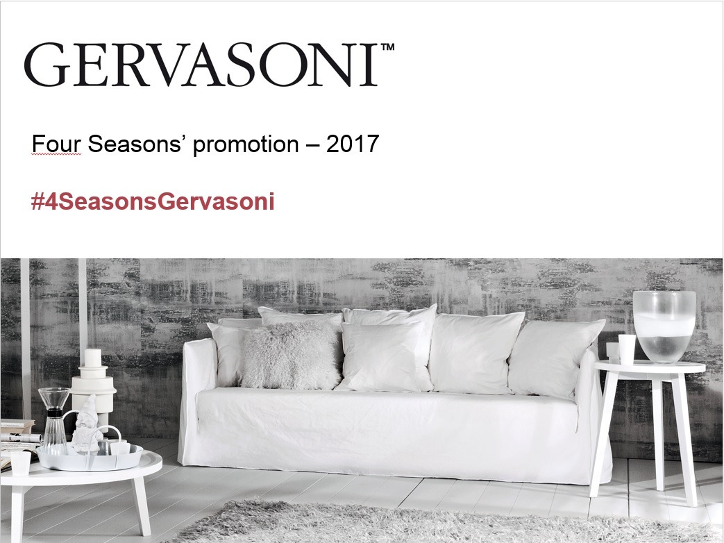 gervasoni promotion
