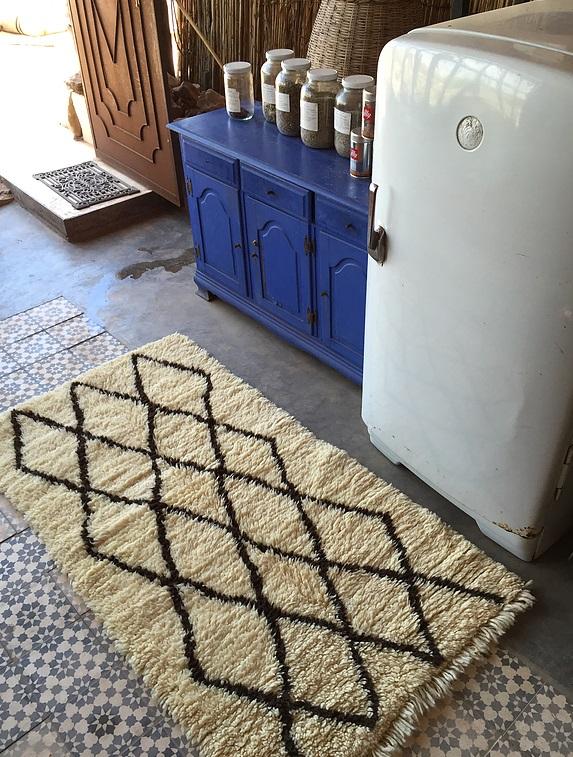tapis berberes beni ouarain chez vestibule paris. Black Bedroom Furniture Sets. Home Design Ideas