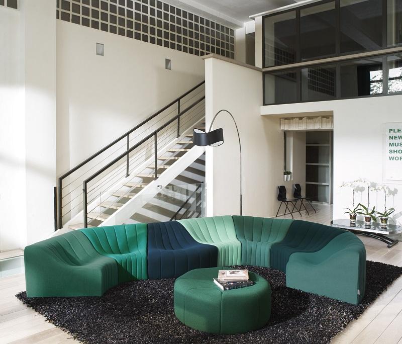 canap chromatique steiner paris chez vestibule paris 75003. Black Bedroom Furniture Sets. Home Design Ideas
