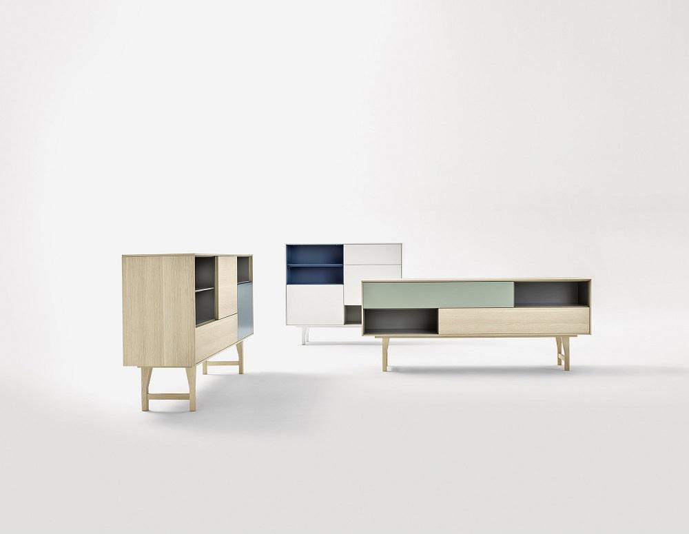 achetez votre meuble buffet kuri novamobili chez vestibule. Black Bedroom Furniture Sets. Home Design Ideas