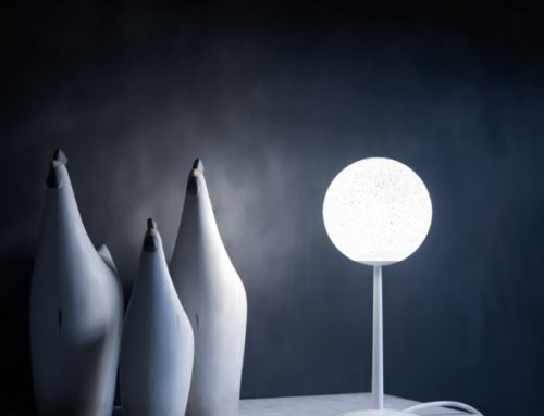 Lampe de table ICEGLOBE Lumen center Italia