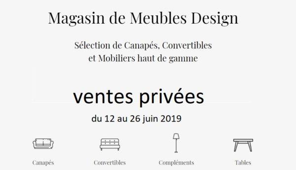 , Les ventes Privées Chez Vestibule-Paris du 12 au 26 Juin 2019