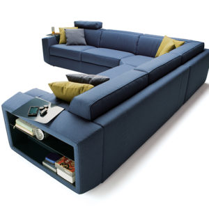 Canapé lit Melvin Angle Milano Bedding