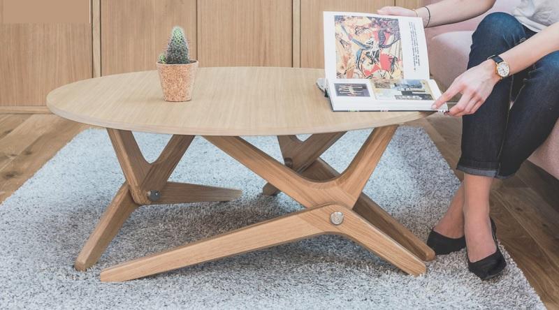 Table basse relevable Authentique