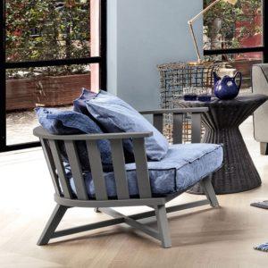 fauteuil gray 07 gervasoni par Paola Navone