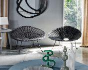 fauteuil sweet 27 gervasoni Paola Navone