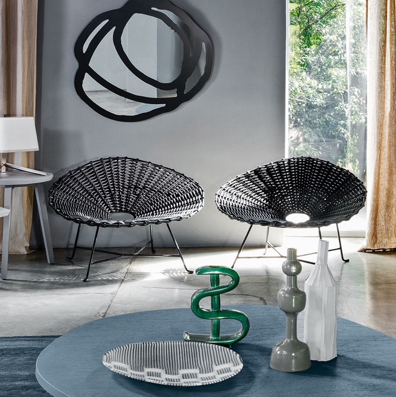 fauteuil sweet 27 gervasoni Paola Navone